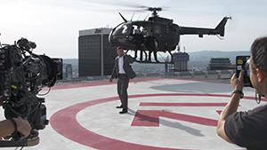 "Geico BTS – ""Spy"" commercial"